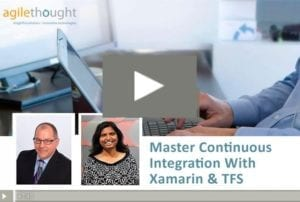 Master Continuous Integration With Xamarin TFS