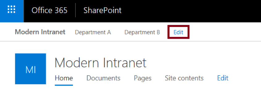 SharePoint-Edit-Site