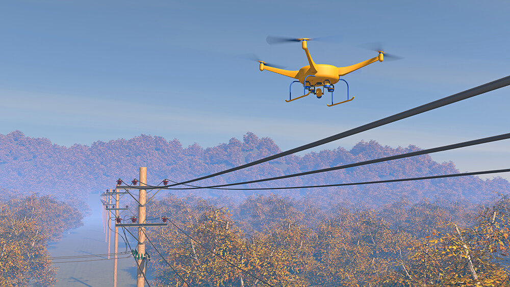 Utilities and drones||From Inspection to Safety: 4 Ways Utilities Are Benefitting From Drones