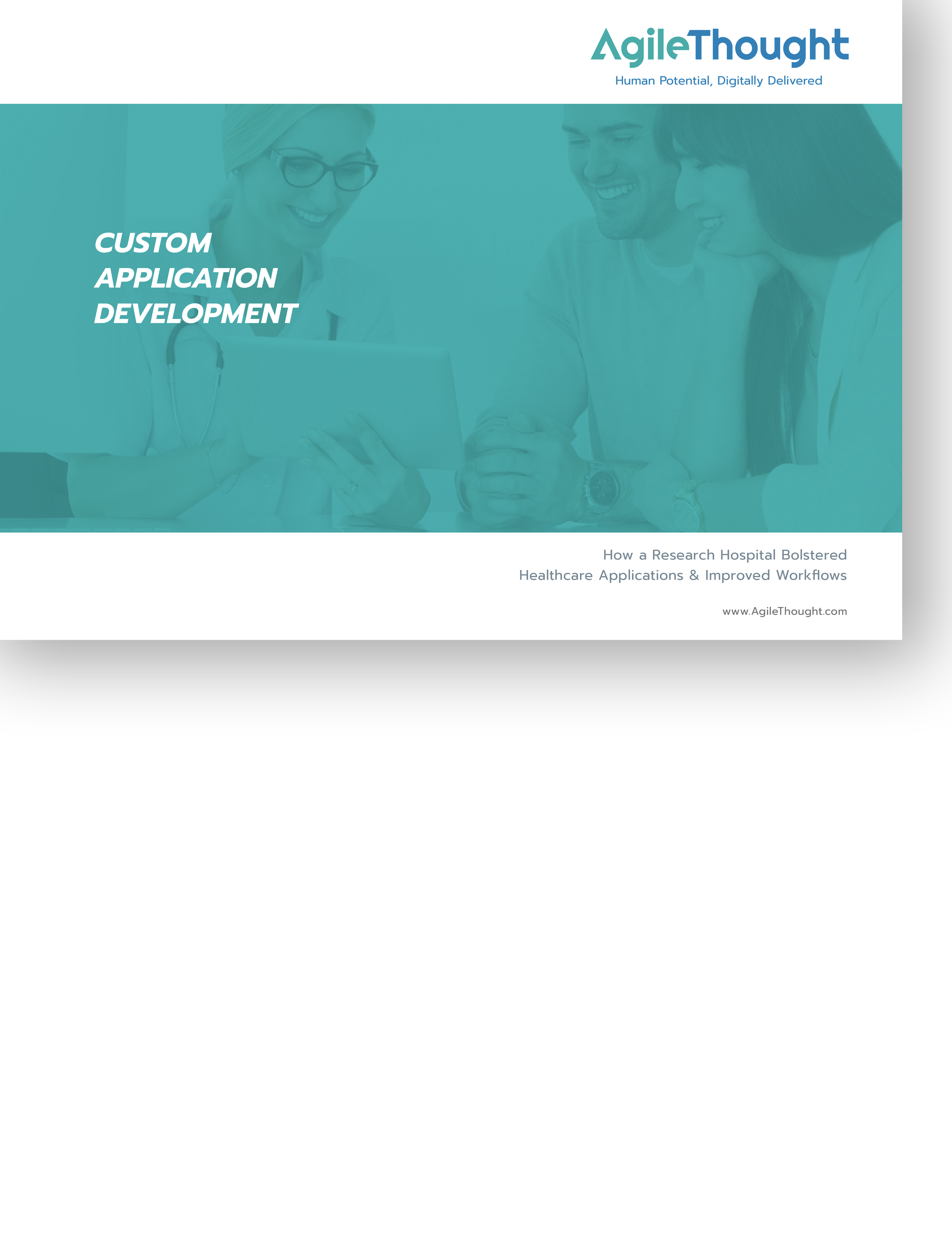 improve healthcare experience with custom development