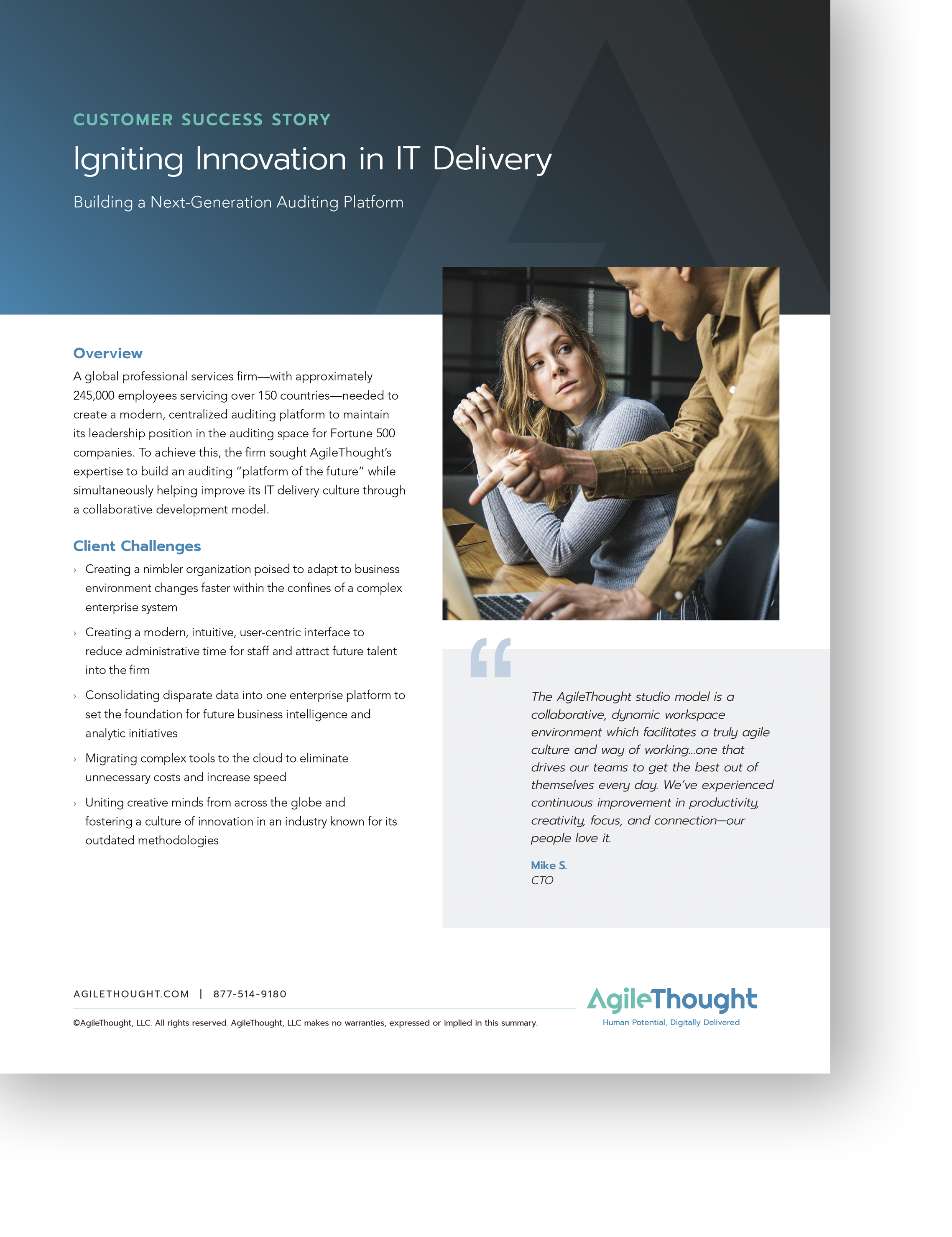 innovation in IT delivery