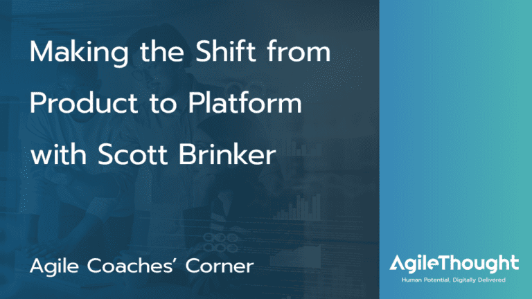 shift from product to platform with scott brinker