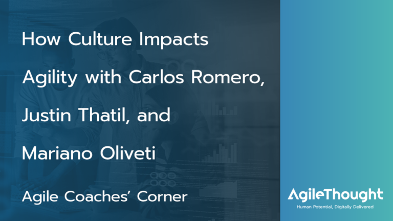 How Culture Impacts Agility