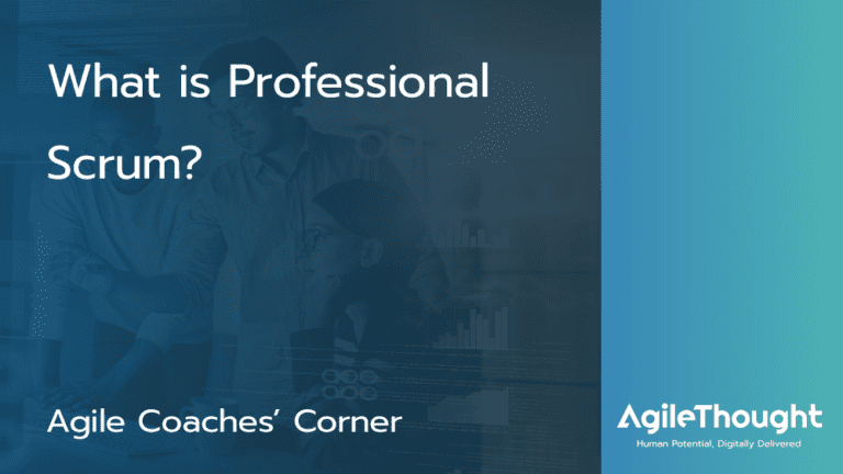 What-is-professional-scrum