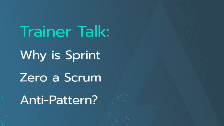 sprint-zero-scrum-anti-pattern