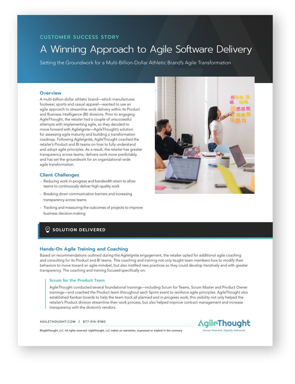 winning agile software development