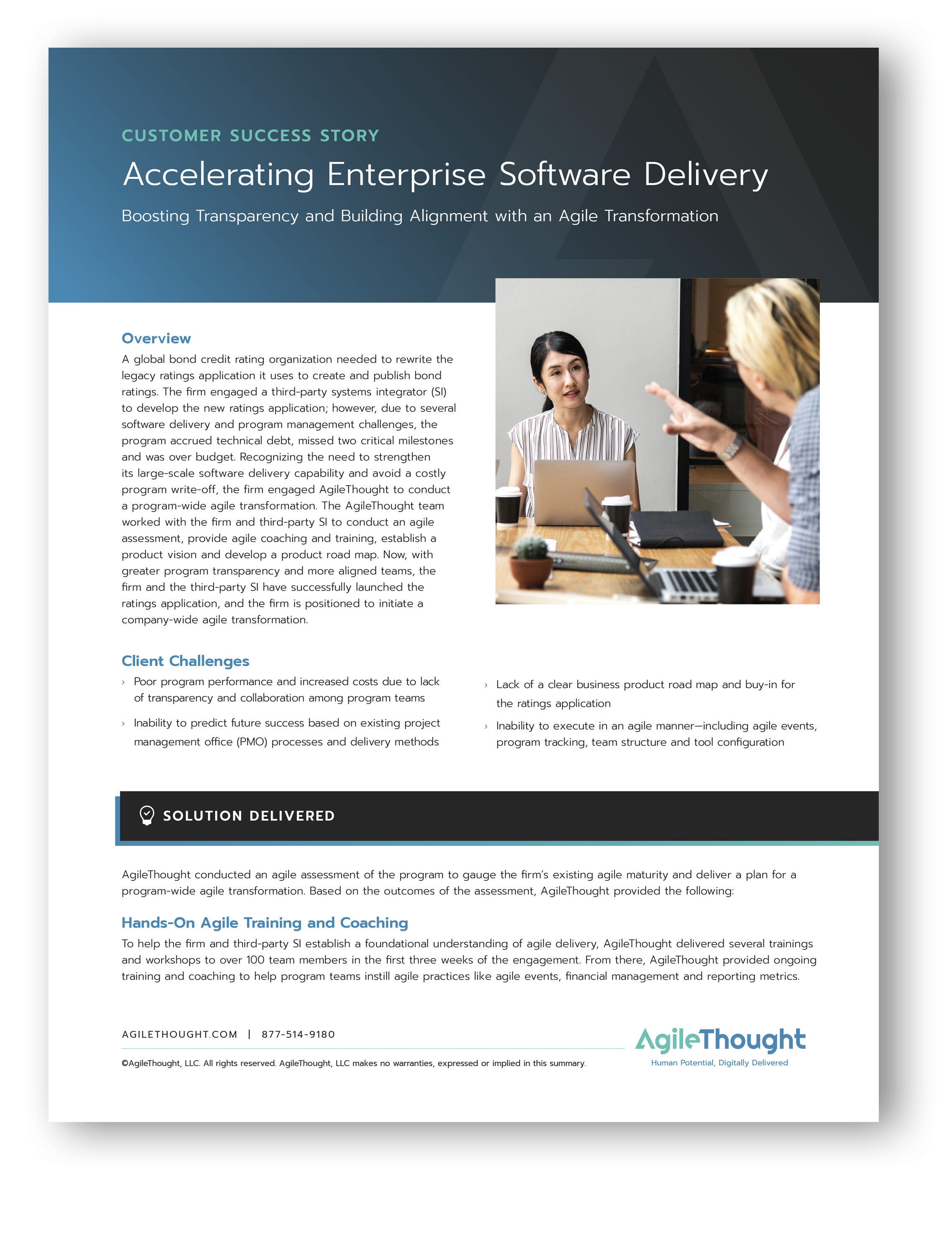 accelerating enterprise software delivery