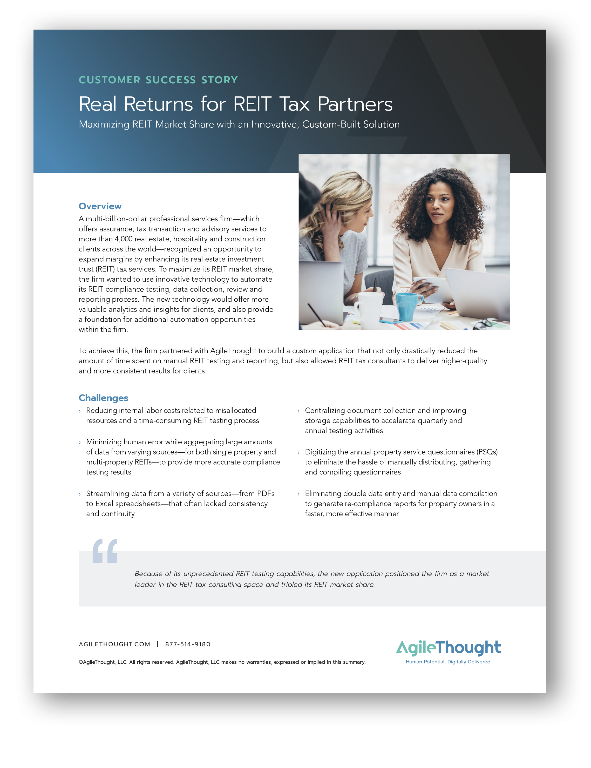 reit tax partners